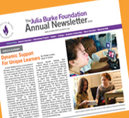 The Julia BUrke Foundation Newsletter