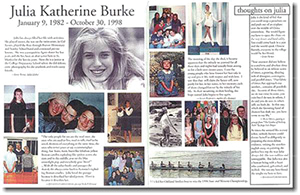 Julia Burke Foundation Yearbook